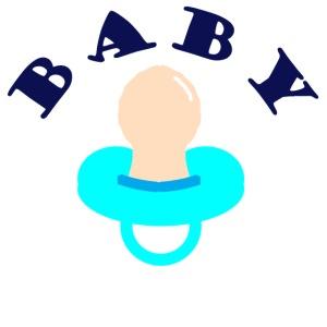 diseño de babero BABY