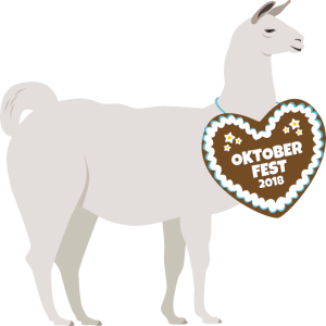 Lama Alpaka Oktoberfest