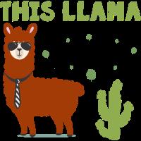 Office Shirt • Lama • Ehemann Geschenk
