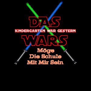 Das Wars vom Kindergarten zur Schule