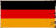 Fan-Shirt: Deutschland Fahne Flagge Schwarz Rot Gold Grunge