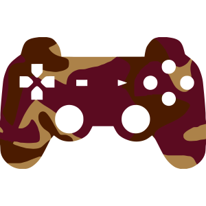 GAMING CONTROLLER - CAMO / CAMOUFLAGE