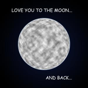 Zum Mond und zurück