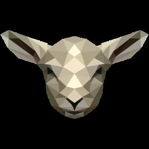 Lamm/Schaf im Poly Design