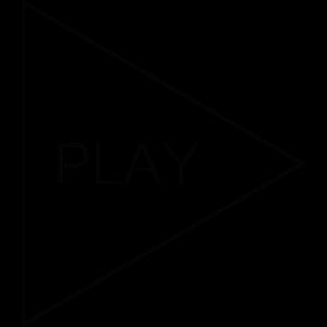 Play Musik Design Minimalistisch Geschenk
