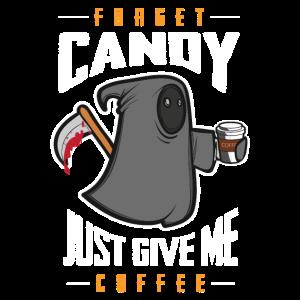 Lieber Kaffee - Süßigkeiten Halloween Geschenk