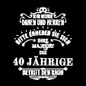 40 Geburtstag