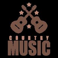 Country musik cowboy Hut Pistole