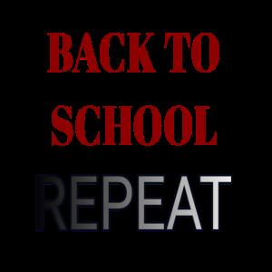 Zurück zur Schule WIEDERHOLEN