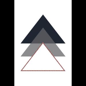 minimalistisches geometrisches Design