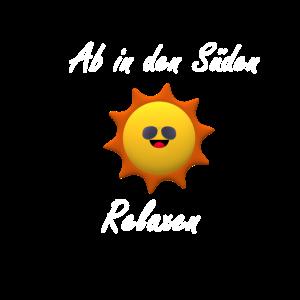 Ab in den Sueden mit Sonne
