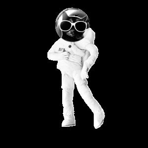 Katze Astronaut