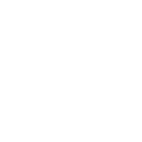 Hipster skull with hipster hair and mustache