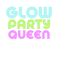 Glow Party Queen T-shirt Königin
