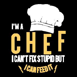 Ich bin der Chefkoch