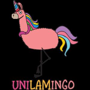 Einhorn Lama Flamingo Trendtier UniLamIngo