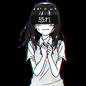 Sad japanese anime | aesthetic