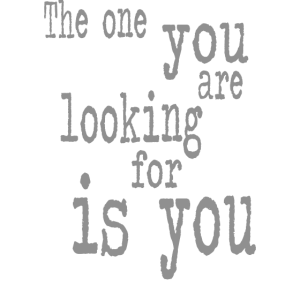 The one you
