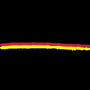 Unterstrich Flag Deutschland