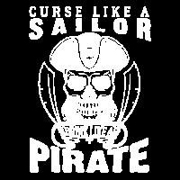 Curse Like A Sailor Drink Like A Pirate