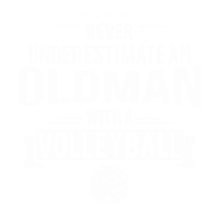old man volleyball maenner premium t shirt