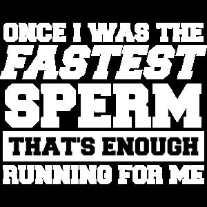 Genug gerannt - ich war einmal der schnellste