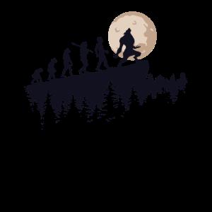 Werwolf Evolution Vollmond