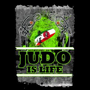 Judo Wettbewerb japanischer Kampfsport Asien
