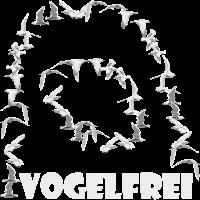 VOGELFREI SHIRT NOMADE SINGLE LEBENSWEISE
