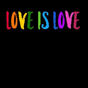 Love is Love, Regenbogen LGBT schwul