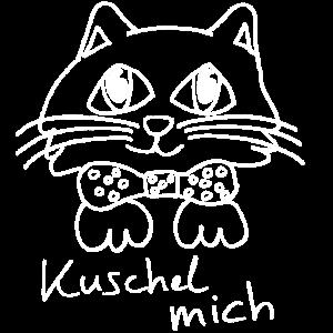 Süße Kuschel Katze wartet schon auf Dich