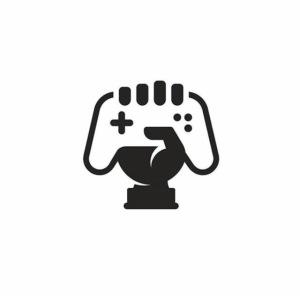 KIDS PREMIUM TOP CORNER GAMER LOGO| ITZCHARLIE