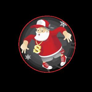 Hiphop Weihnachtsmann