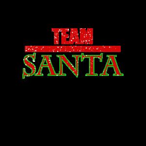 """""""Team Santa"""" Weihnachten Santa Claus Christmas"""