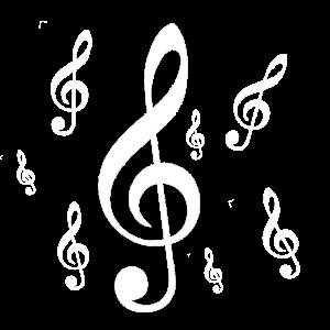 Musik Notenschlüssel
