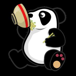 Ramen Japanischer Panda Pandas Kawaii Japan Manga