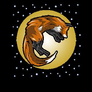 FOX tribal Fuchs Tribal Tattoo Stil