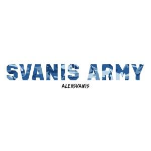 SVANIS ARMY (ALEXSVANIS SVART TEXT)
