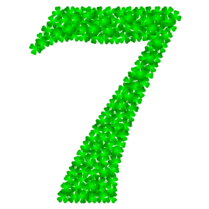7 Sieben - Kleeblätter