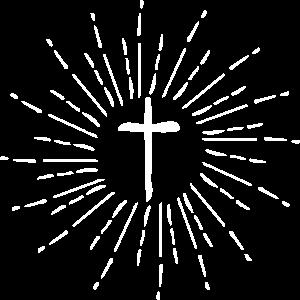 Kreuz Gott Jesus Licht Strahlen
