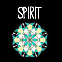 Spirit Geist Gleichgewicht Meditation Shirt