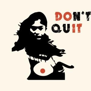 Nicht aufgeben! Ping-Pong Girl Player T-Shirt