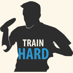Train Hard and be a Table Tennis Win win