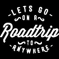 Lass uns auf eine Reise irgendwohin gehen Urlaub