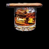 Whiskey Und Zigarren - Geschenk Für Whiskey Fans
