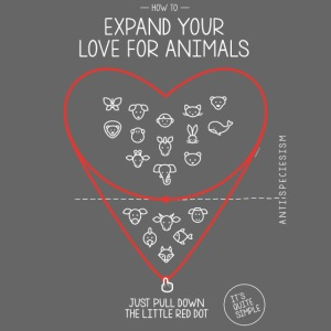 Expand your love for animals (dunkel)