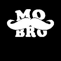 Mobro Schnurrbart Moustache Shirt Geschenk