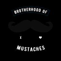 Brotherhood of Mustaches Biker Shirt Geschenk