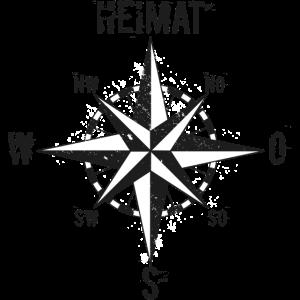 Nordlicht, Norden, Heimat, Maritim, Kompass