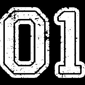 01 TRIKOT Trikotnummer Eins Geschenke Shirts